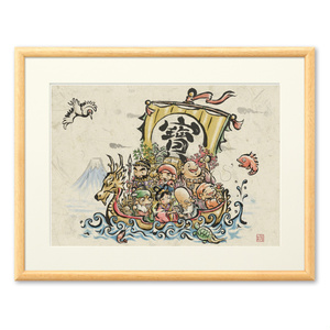 宝船複製画 七福神シリーズ