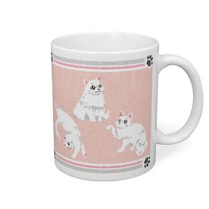 ふさ猫マグカップ