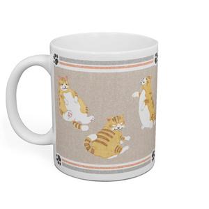 太った猫マグカップ