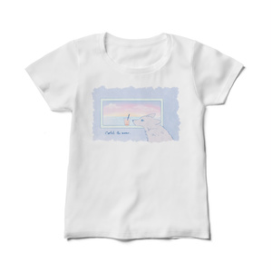 レディースTシャツ【Catch the wave】