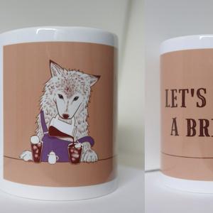 マグカップ【オオカミ×コーヒー】
