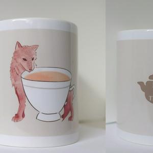 マグカップ【オオカミ×ミルクティー】