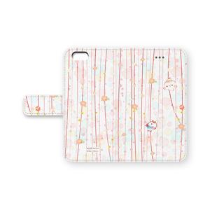 手帳型iPhoneケース「ひな祭りましまろう」