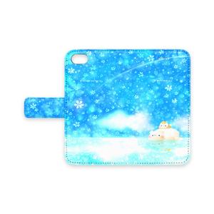 iPhoneケース【しろくまとましまろう】