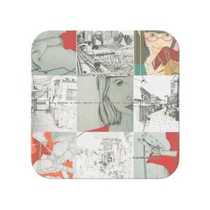 タオル【モザイクパターン】