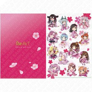 【期間限定】桜グッズ - クリアファイル
