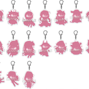 【期間限定】桜グッズ - 全員セット(アクリル&缶バッジ)