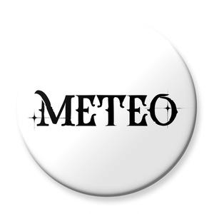METEO ロゴ缶バッジ