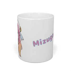 水瓶ミアデザイン マグカップ