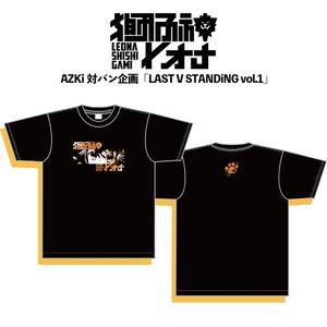 獅子神レオナAZKi対バンライブTシャツ(Sサイズ)