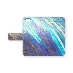 侵食 iPhone手帳型カバー