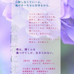 紫陽花に沈む
