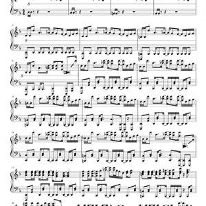 【無料楽譜】MEGALOVANIA(ver. marasy)