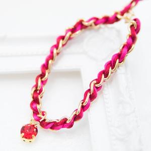 編み込みブレスレット おそ松さんイメージカラー