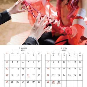 ギルティクラウンコスプレカレンダー2019