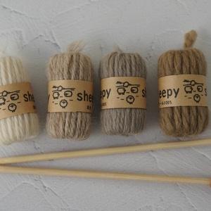 SD&DD、MSD&MDD用毛糸と編み棒セット