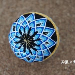 SD・DD、MSD&MDDサイズの手まり◆二つ菊◆都