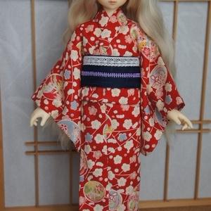 MSD&SDM/MDD用浴衣◆赤梅
