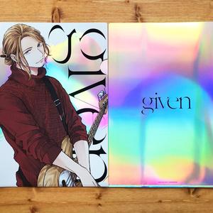 「ギヴン」クリアファイルセット オーロラ〈2枚組・全2種〉