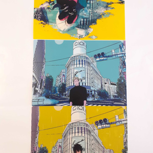 「ギヴン」A4クリアファイル3枚セット B〈春樹・秋彦・雨月〉