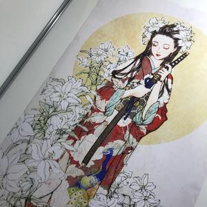 A0サイズポスター(百合)BigSizePoster(lily)