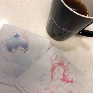 ドリップコーヒーセット(お昼寝レンレン&ソウタちゃん)