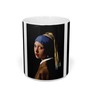 ヨハネス・フェルメール『 真珠の耳飾りの少女 』 マグカップ