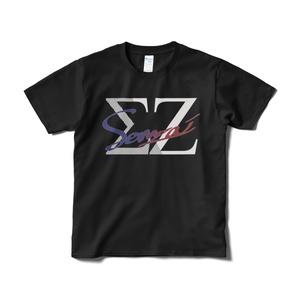 Sennzai / 手書きロゴTシャツ(黒)
