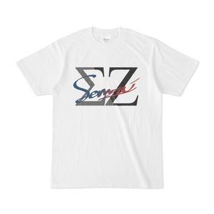 Sennzai / 手書きロゴTシャツ(白)
