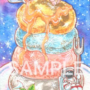 ATC「月のパンケーキ」