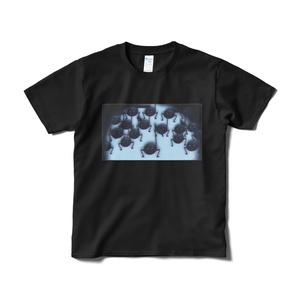 音虫をつかまえろ!・Tシャツ(ブラック)