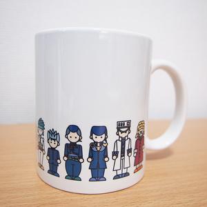 【ジョジョ4部】杜王町マグカップ