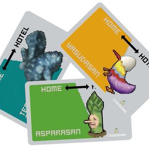 MillionOnionHotel「博士のICカードステッカー」3種セット