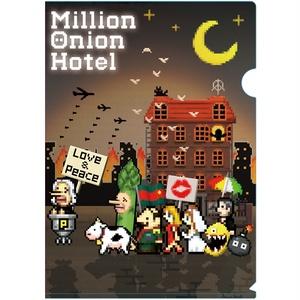 MillionOnionHotel「オニホテクリアファイル2枚セット」