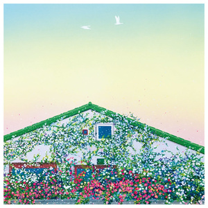 S-11 スクエアカード「Bloom」 /壁が薔薇の家