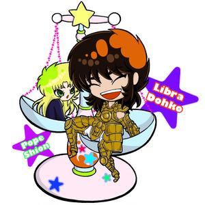 童虎&シオン アクリルスタンドフィギュア