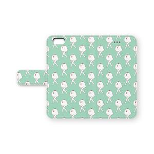 鶏さんiPhoneケース(手帳型)