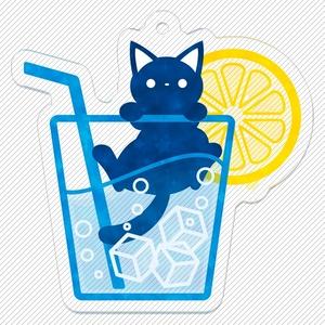 ソーダと猫 キーホルダー