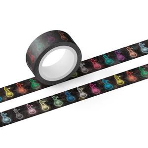 ネオン電球 マスキングテープ