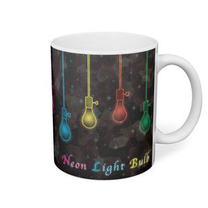ネオン電球 マグカップ