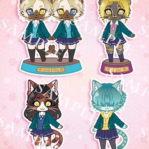 猫科JK◆集合ポストカード