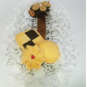 ミニクッキーのぱっちんピン(送料無料)
