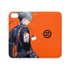 各種対応 iPhoneケース(橙)