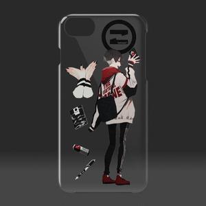 鶴の恩返し クリアiPhoneケース