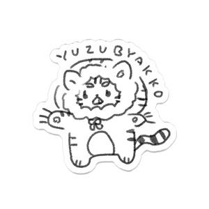 YUZU BYAKKO アクリルバッジ