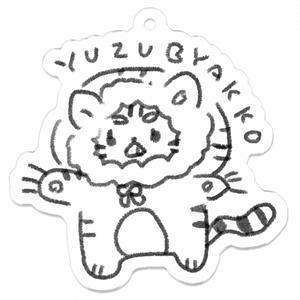 YUZU BYAKKO アクキー(透過)