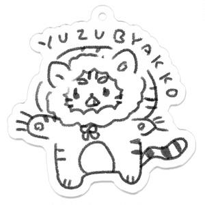 YUZU BYAKKO アクキー(白背景あり)