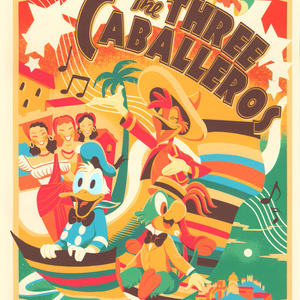 The THREE CABALLEROS【Cyclops Print Works】