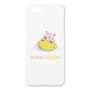 ぶたレモンiPhoneハードケース