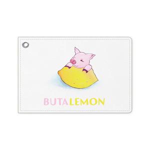 ぶたレモンパスケース